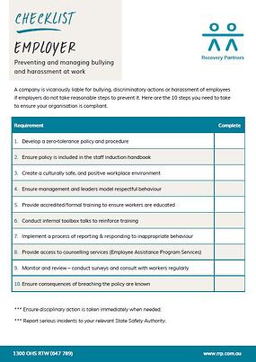 Bullying_and_Harassment_Employer_Checklist
