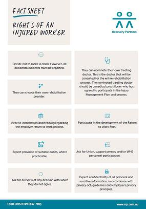 Rights of an Injured Worker