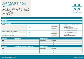 WHS Corporate Plan
